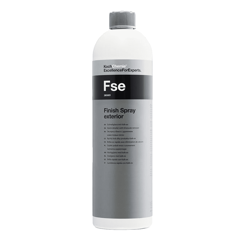 Koch Chemie Fse Finish Spray exterior Schnellglanz Spray für die finale Lackpflege mit Kalkentferner 1000ml Autoaufbereitung Lackpflege Lackversiegelung