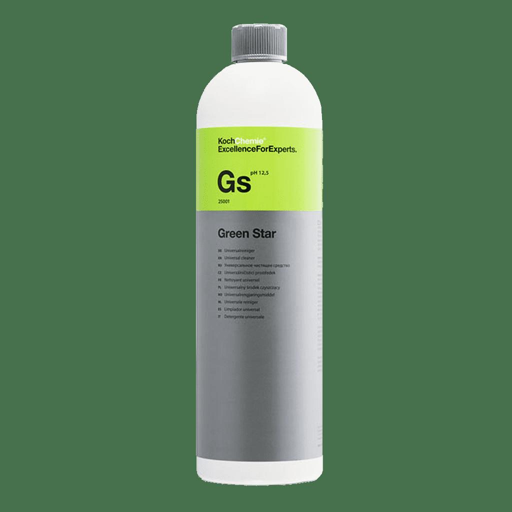 Koch Chemie Gs Green Star Universalreiniger für die Autopflege Vorwäsche und Autoaufbereitung als Konzentrat in der 1000ml oder auch 1 Liter Flasche