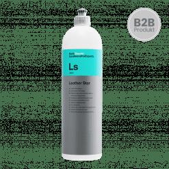 Koch Chemie Leather Star Ls Leder Tiefenpflege für Autositze und Leder im Innenraum Profi Waschchemie Gewerbe Autoaufbereitung 1000ml 1 Liter