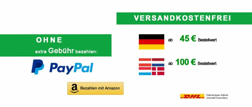 Bild kostenfrei zahlen paypal und amazon payments und versand