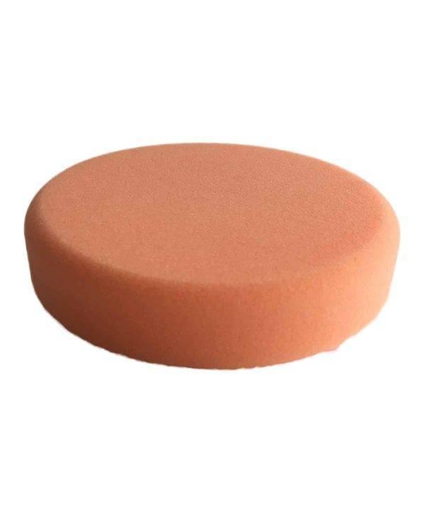 Bild von KochChemie® – Antihologrammschwamm orange, rund Ø 135 mm x 25 mm Vorderseite