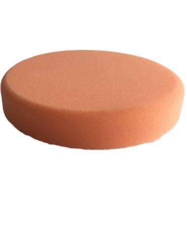 Bild von KochChemie® – Antihologrammschwamm orange, rund Ø 160 mm x 25 mm Vorderseite