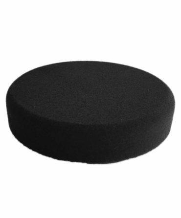 Bild von KochChemie® – Finish-Schwamm schwarz Ø 130 mm x 30 mm Vorderseite