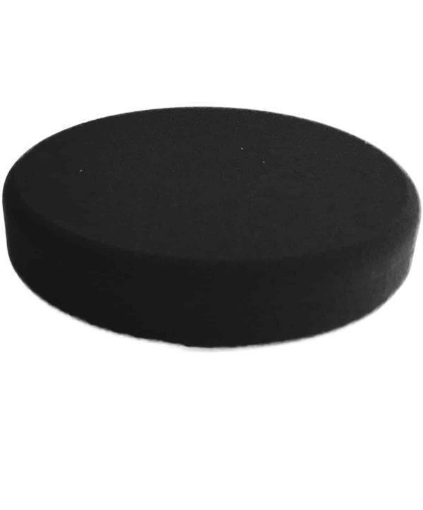 Bild von KochChemie® – Finish-Schwamm schwarz Ø 160 mm x 30 mm Vorderseite