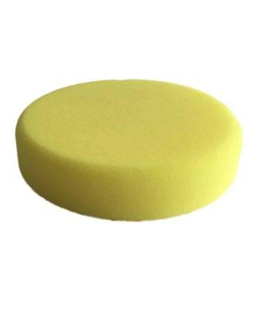 Bild von KochChemie® – Schleifschwamm gelb, mittelhart Ø 130 mm x 30 mm Vorderseite