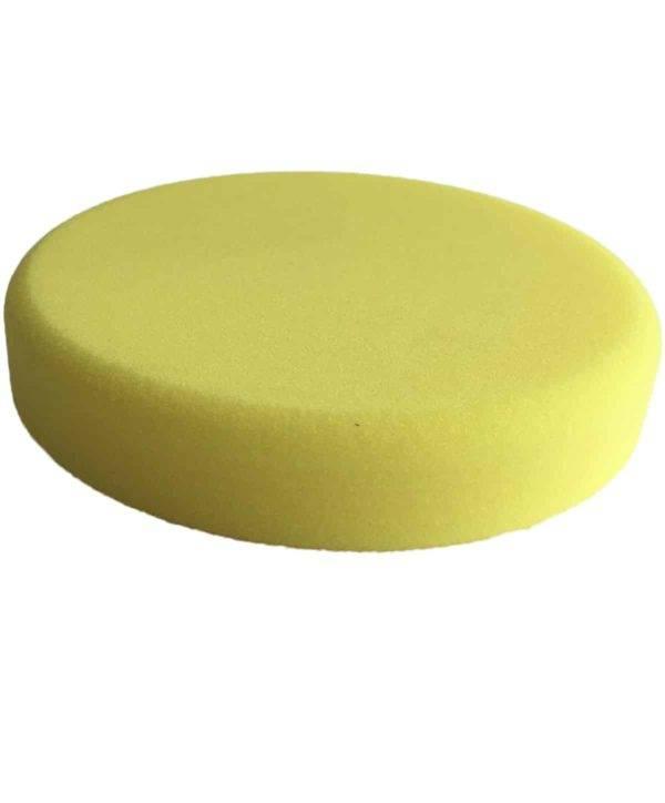 Bild von KochChemie® – Schleifschwamm gelb, mittelhart Ø 160 mm x 30 mm Vorderseite