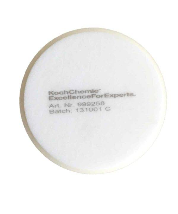 Bild von KochChemie® – Schleifschwamm weiß, hart Ø 130 mm x 30 mm Rückseite