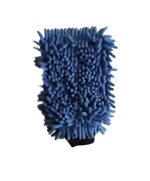 Bild von Wasch-Handschuh (blau)