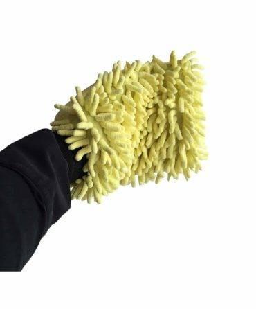 Bild von Wasch-Handschuh (gelb)