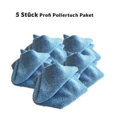 Bild von Deutsche Autopflege Profi Poliertuch 5er Paket