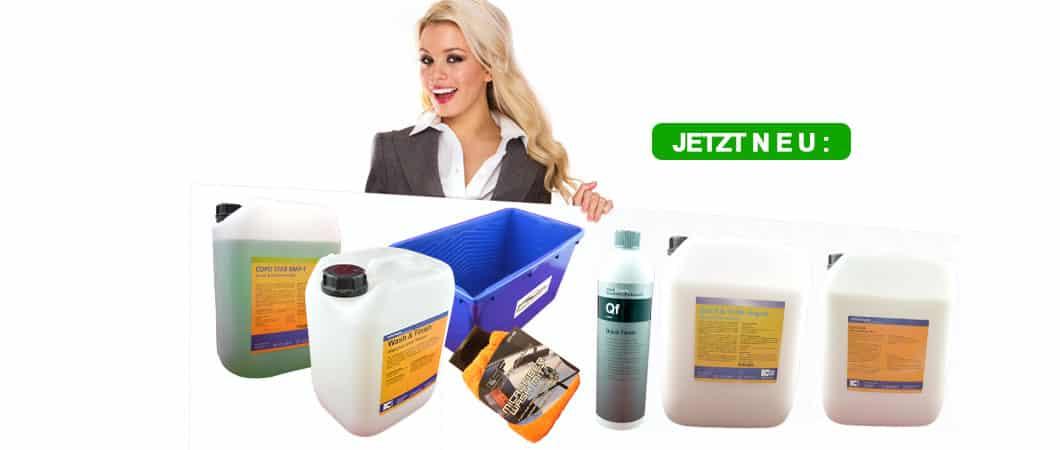 Bild - Neue Produkte im Online-Shop Deutsche-Autopflege.de