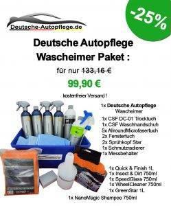 Bild von Wascheimer Paket Deutsche-Autopflege.de