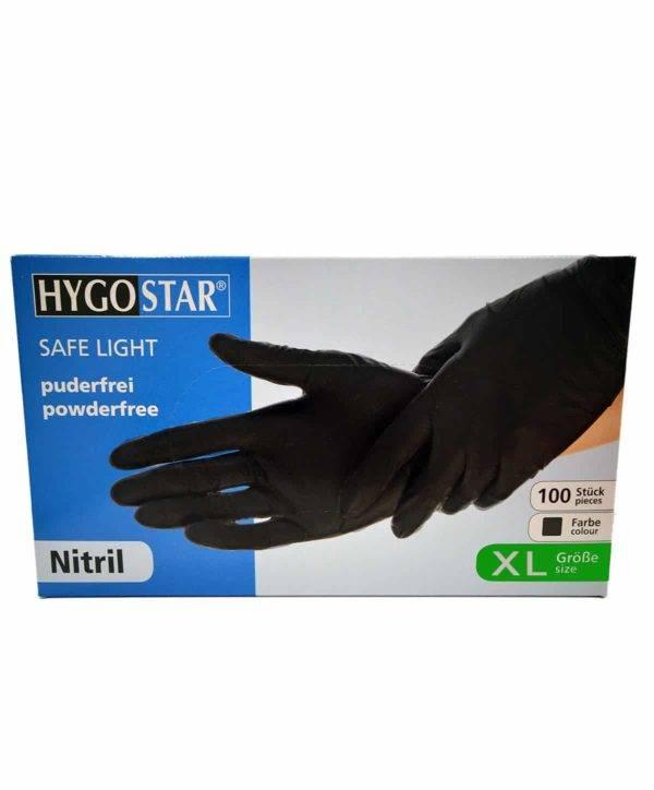 Bild von HygoStar Safe Light Nitrilhandschuh schwarz