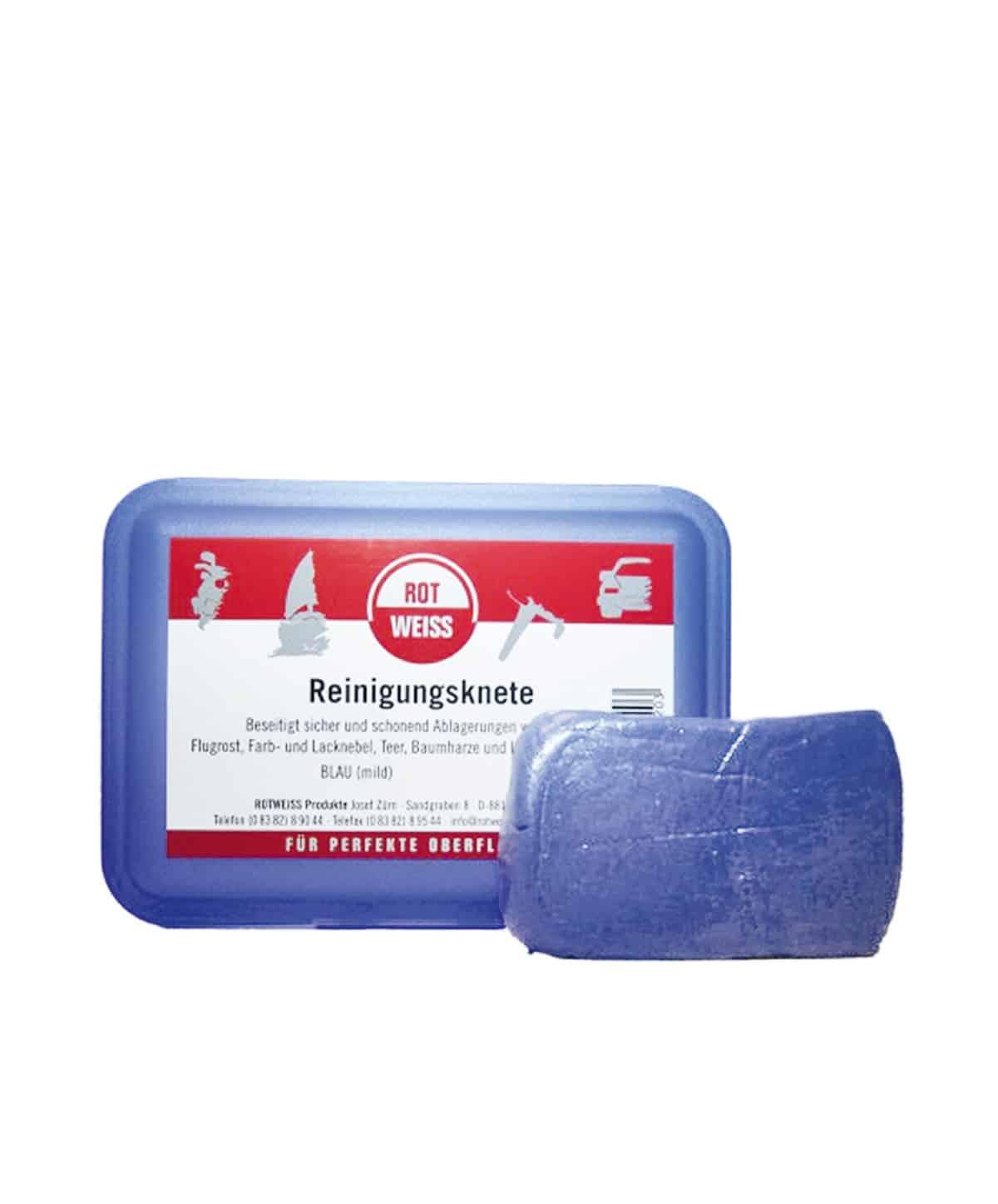 ROTWEISS Reinigungsknete Blau