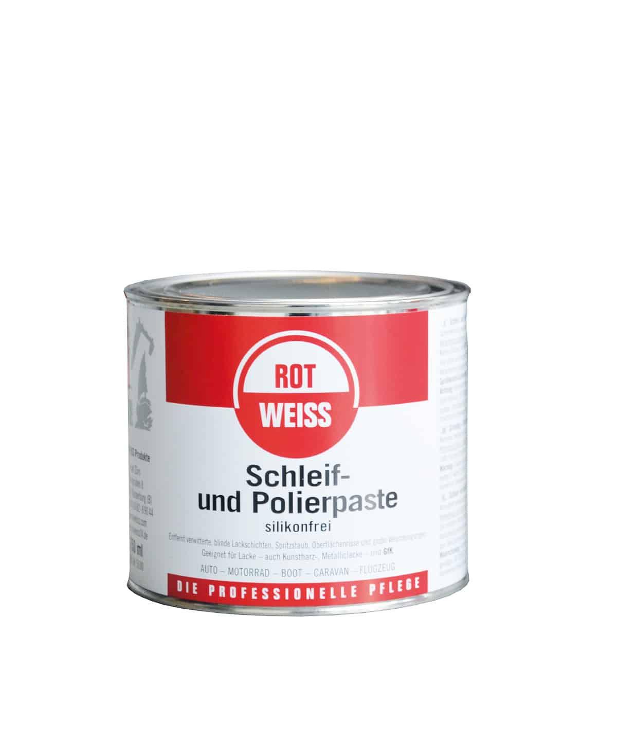 rotweiss schleif und polierpaste deutsche. Black Bedroom Furniture Sets. Home Design Ideas