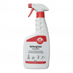 RotWeiss Reifenglanz das professionelle Reifenpflegeprodukt in der 500ml Sprühflasche für langanhaltenden Neureifeneffekt und Nasseffekt