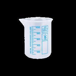 100ml Messbecher für die Autopflege mit blauer Skala