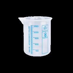 250ml Messbecher für die Autopflege mit blauer Skala