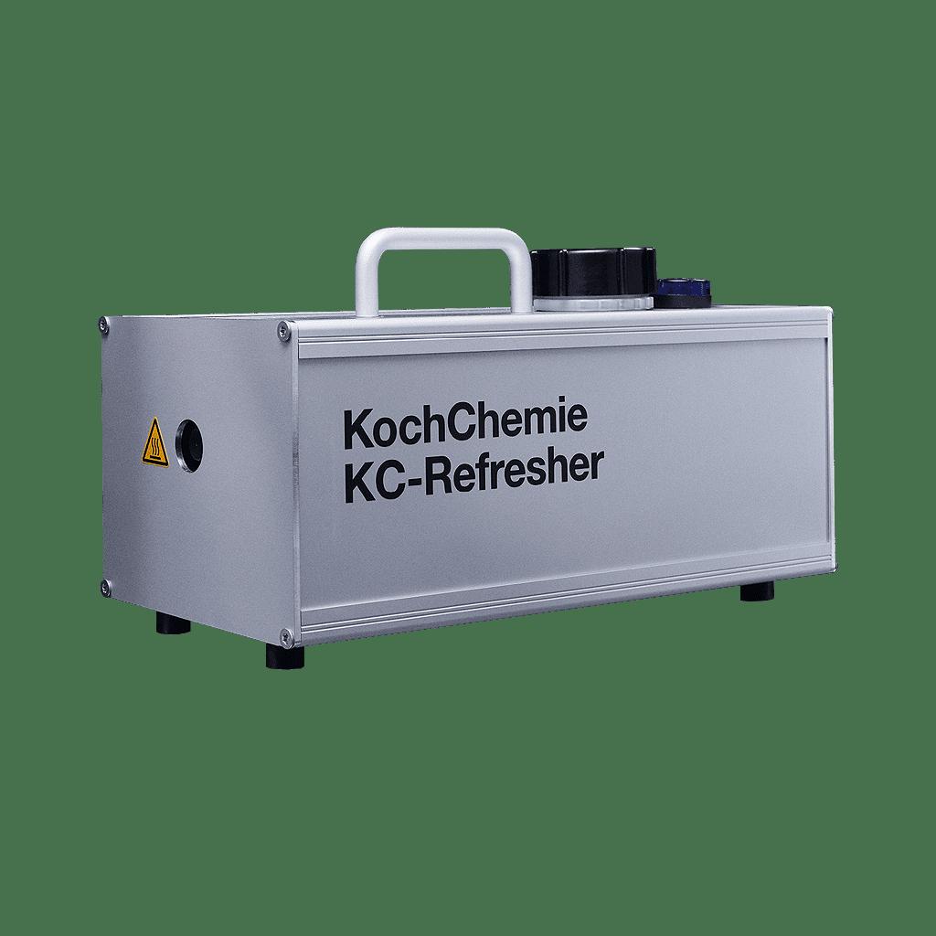 KC Refresher, die innovative Geruchsbeseitigung mit Heißdampf-Vernebelung