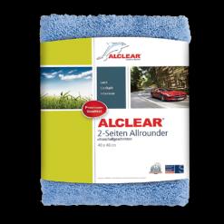 Alclear 2-Seiten Allrounder Mikrofasertuch ultraschallgeschnitten