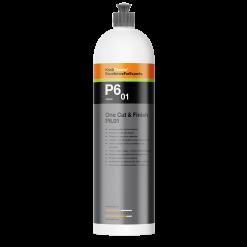 Koch Chemie P6.01 die neue One Cut & Finish Politur mit Carnauba Wachs in der 1l Flasche