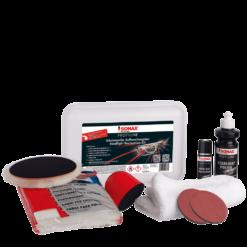 Scheinwerferaufbereitungsset für den gewertbliche Einsatz von SONAX Profiline